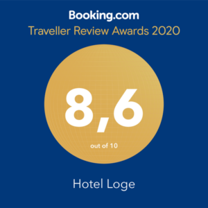 Hotel Loge Booking.com Award 2020