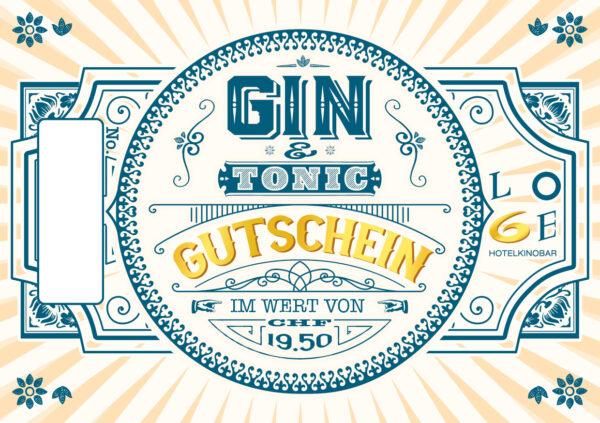 LOGE Bar Gin & Tonic Gutschein - Wert CHF 19.50.-